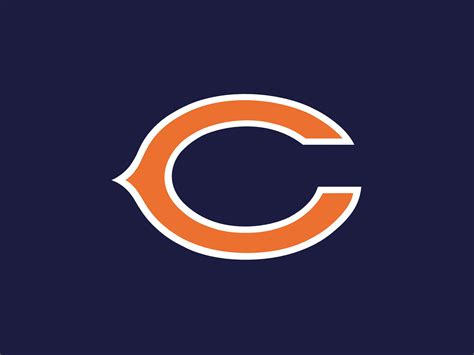C Bears nfl chicago bears c logo navy background 1600x1200