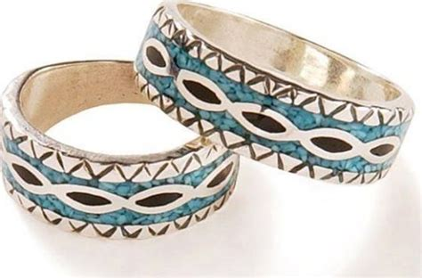 Native American Indian Wedding Bands