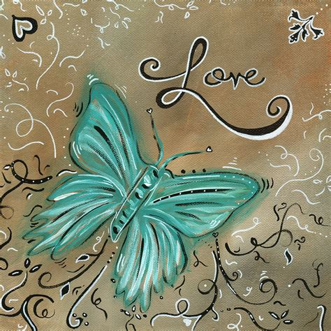 live and love butterfly by madart by megan duncanson