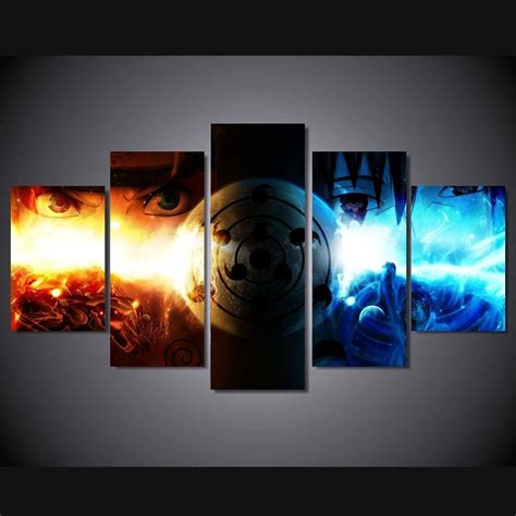 Anime 5 Canvas by 15 Best Anime Canvas Wall