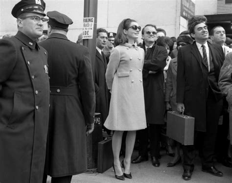 St Jackie jackie kennedy at the st s day parade 1966 photos new york city st s day