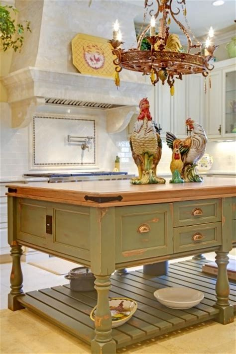 kitchen island decorative accessories eye for design decorating with roosters for a