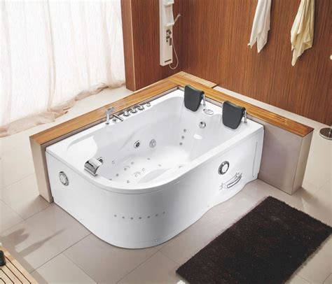 two person bathtub shower combo heated jacuzzi bath mat 28417wl intex 140 bubble jets 6