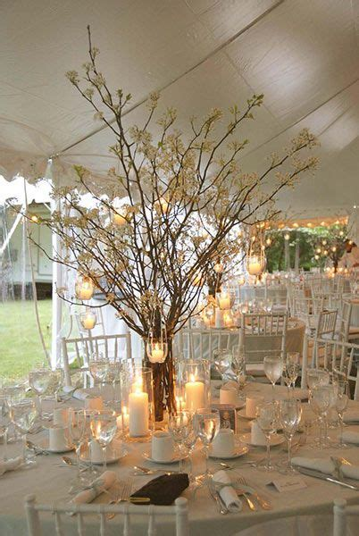 wedding centerpieces with branches and lights best 25 hanging tea lights ideas only on