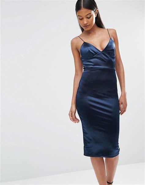 L Dress by Club L Club L Satin Cami Midi Dress