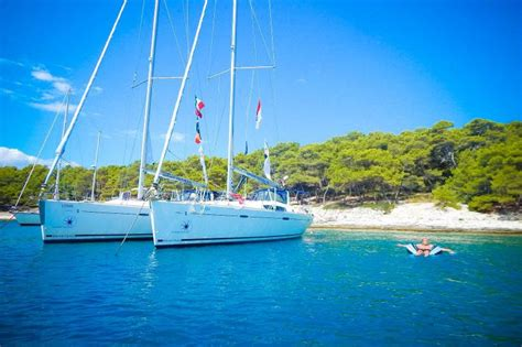 sail greek islands busabout 7 days sailing croatia fun in the sun by sailing nations