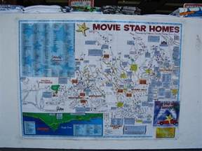 Star Map Los Angeles by Here S What A Map To The Stars Homes Looked Like In 1937