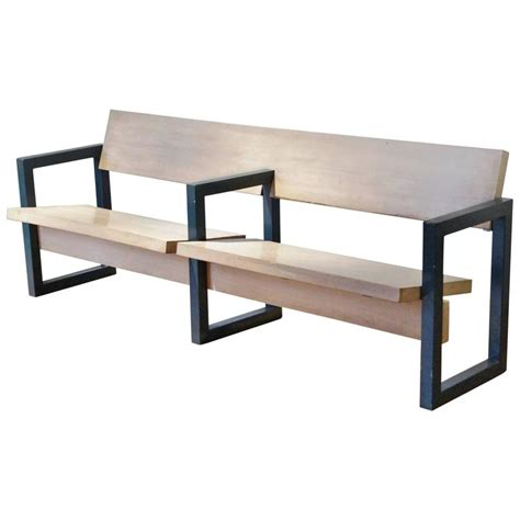 church benches design gerrit rietveld church pew for hoeksteen church uithoorn