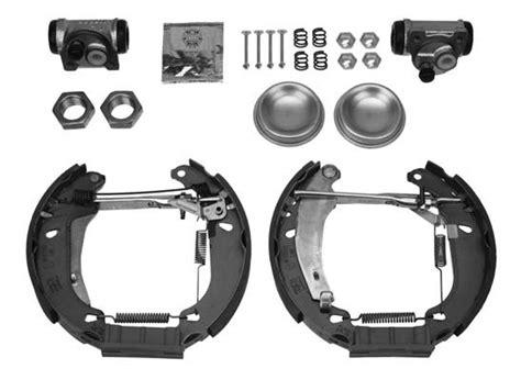 Repair Kit Wheel Brake Cylinder Peugeot 306 Brake Shoe Kit For Peugeot 106 Citroen Saxo 3 Stud Wheels