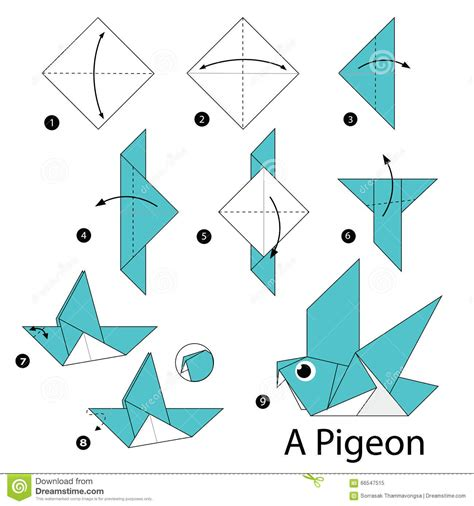 How To Make Origami Animals For - origami animals bird comot