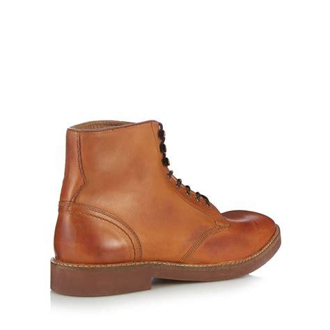 debenhams mens boots h by hudson mens light lace up boots from debenhams ebay