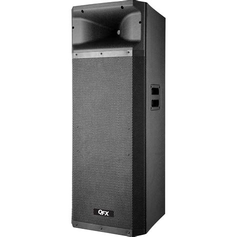 Bluetooth Cabinet by Qfx 2x15 Quot Bluetooth Cabinet Pa Speaker With Usb Sbx 621510