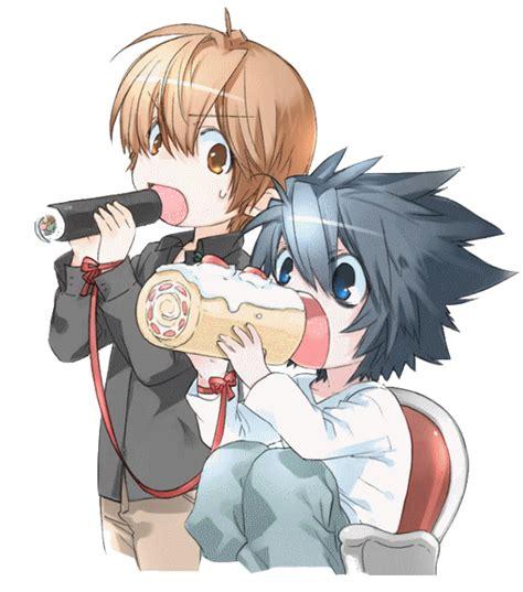 L Light Anime Couples Photo 25450524 Fanpop Light L
