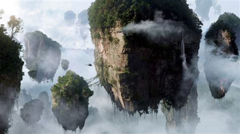 avatar film in china zhangjiajie of china renames avatar mountain in honour