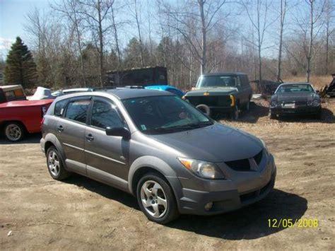 2005 Pontiac Vibe Gas Mileage by Sell Used 2003 Pontiac Vibe Awd All Wheel Drive Automatic