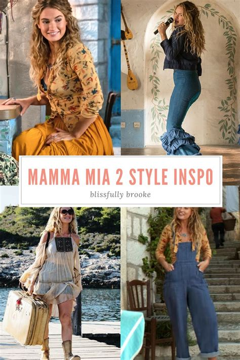 steal  style outfits inspired  mamma mia  simple