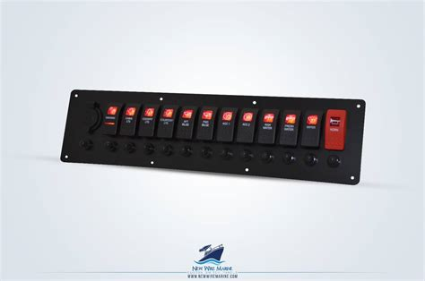 key west boat switch panel switch panel projects see the awesome custom panels we