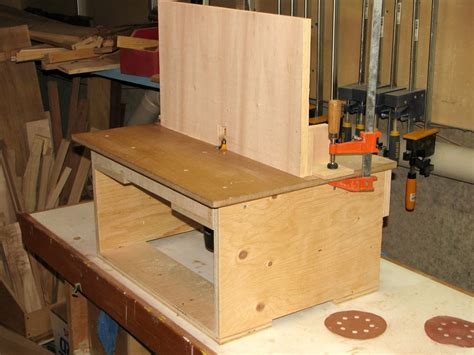 Cheap Router Table by A Board With A