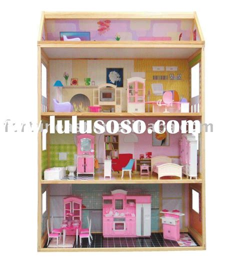 4 story dollhouse wooden doll house 3 story for sale price hong kong