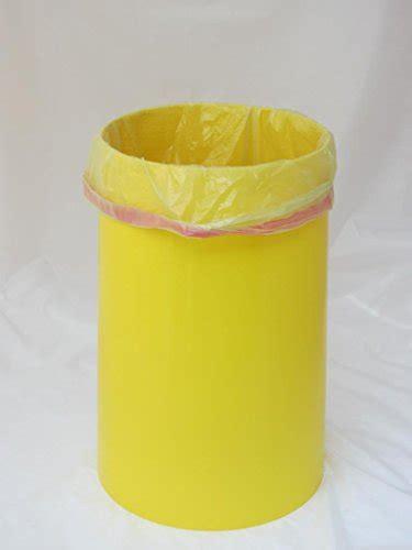 keine zerrissenen gelben saecke sacktonne gelb mit deckel