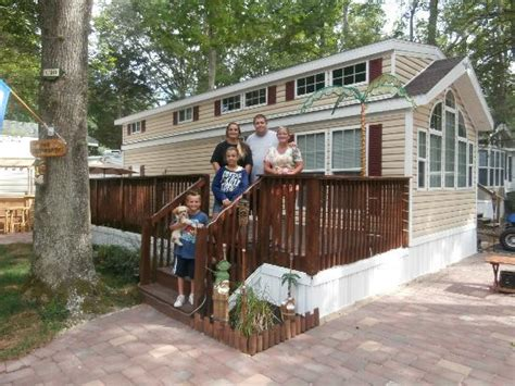 Cape May Cabins by Seasonal Picture Of Shores Cing Resort Cape May Tripadvisor