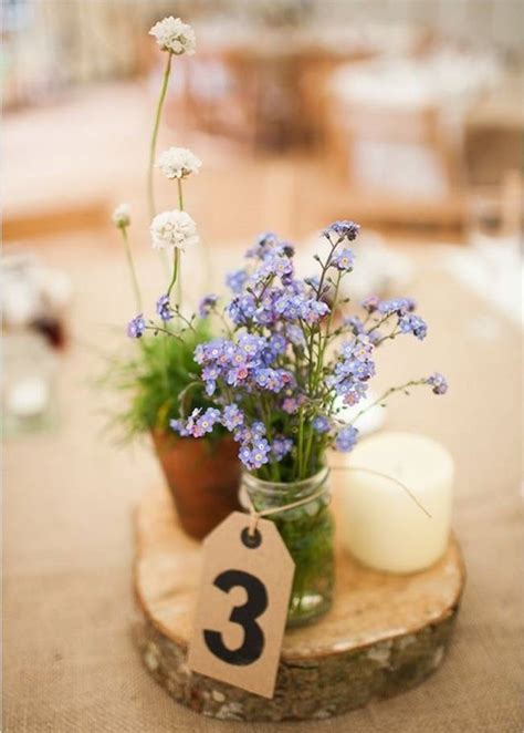 Handmade Wedding Centerpiece Ideas - simple diy wedding centerpiece ideas