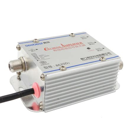 splitter 20db signal lifier hdtv 1 in 3 out catv new booster tv antenna ebay