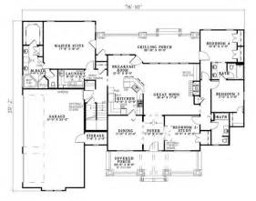 Craftsman Homes Floor Plans by Country Craftsman Tudor House Plan 82217