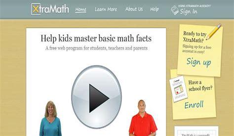 xtramath a free web program to master math facts sheri