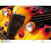 Hot Rod Flames Royalty Free Stock Photo  Image 35871855