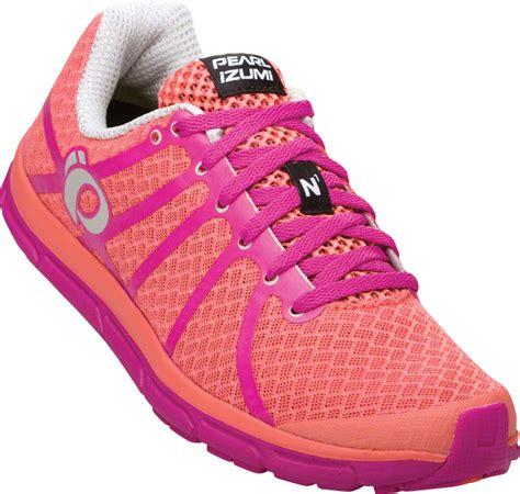pearl izumi s e motion road n 1 running shoe pink 8