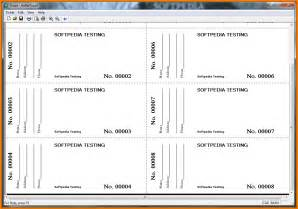 Raffle Tickets Template by Raffle Ticket Word Template