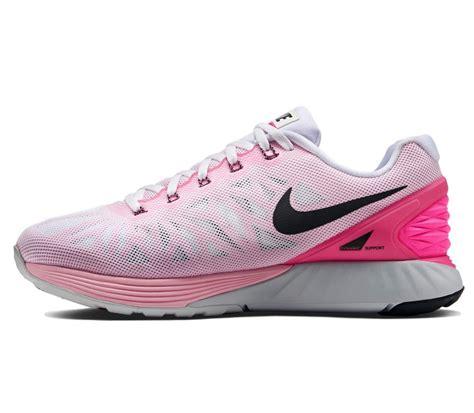 Nike Lunarglide 6 Premium nike lunarglide 6 ren schoen wit roze