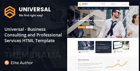 Universal Business Consulting And Professional Services Html Template By Themekalia Universal Website Template