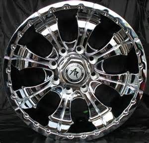 American Racing Chrome Truck Wheels 17 Inch Chrome Rims 8 Lug Chevy 2500 Silverado Gmc