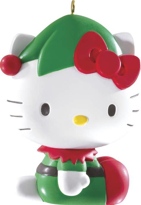 2014 hello kitty christmas ornament carlton heirloom