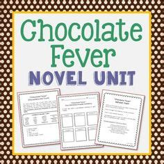 chocolate fever book report frindle unit novel study frindle novels and the calendar