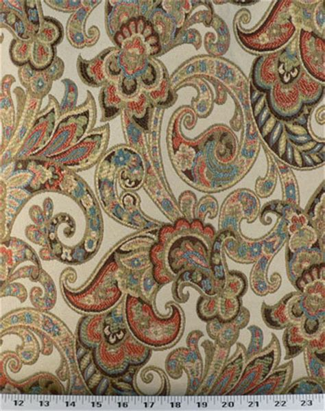 Upholstery Fabric Warehouse by Grand Paisley Discount Drapery Fabrics And