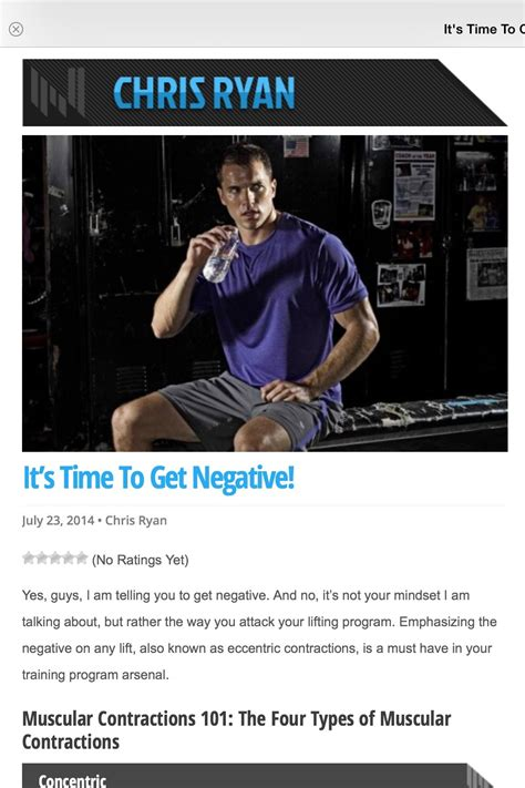 it s time to get negative chris