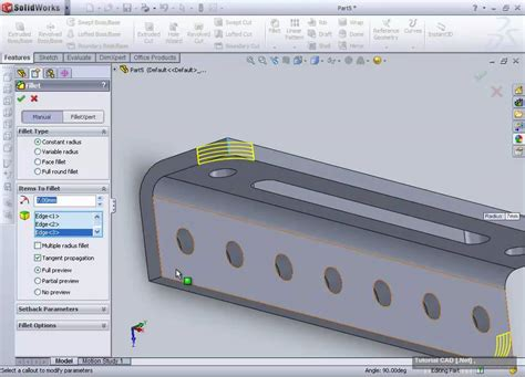 solidworks tutorial how to create a bracket in sheet metal membuat angle bracket di solidworks 2010 youtube