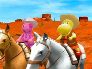 Backyardigans Cowboy Image The Backyardigans The Range 15 Uniqua