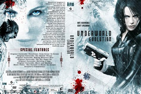 underworld editions cover images underworld evolution movie dvd custom covers 753under evolution standard edition cc custom