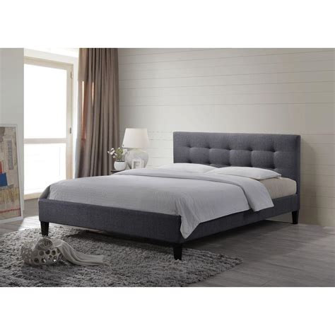 altos home hermosa gray queen upholstered bed alt