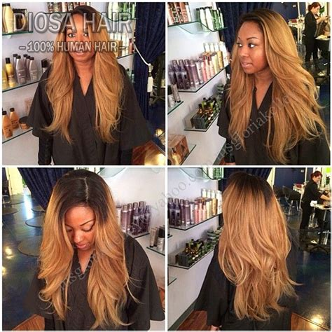 ombre human hair lace front wig 150 density