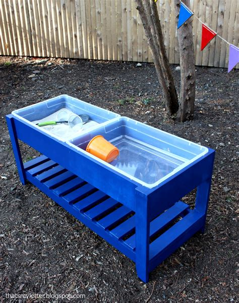 build a sand and water play table bigdiyideas