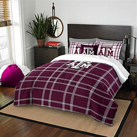 texas comforter set texas a m university embroidered comforter set bed bath
