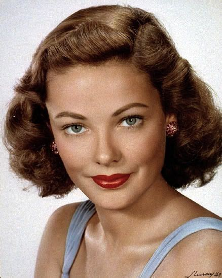 hair pictures women movie stars 170 best images about gene tierney on pinterest to