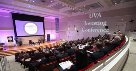 Uvic Mba Contact by Uva Investing Conference To Explore How Asset Management