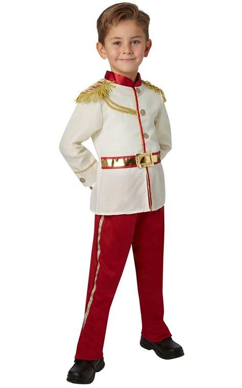 prince charming boys fancy dress disney fairytale book day