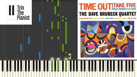 tutorial piano take five take five dave brubeck slow piano tutorial synthesia